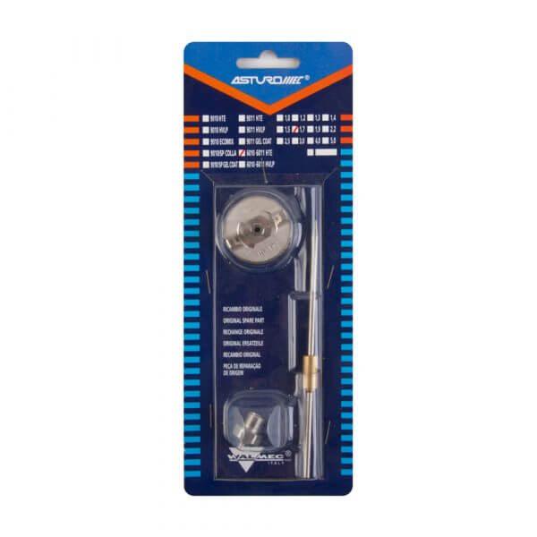 Набор запчастей для краскопультов Asturomec 6010-6011 HTE сопло 1,7 мм