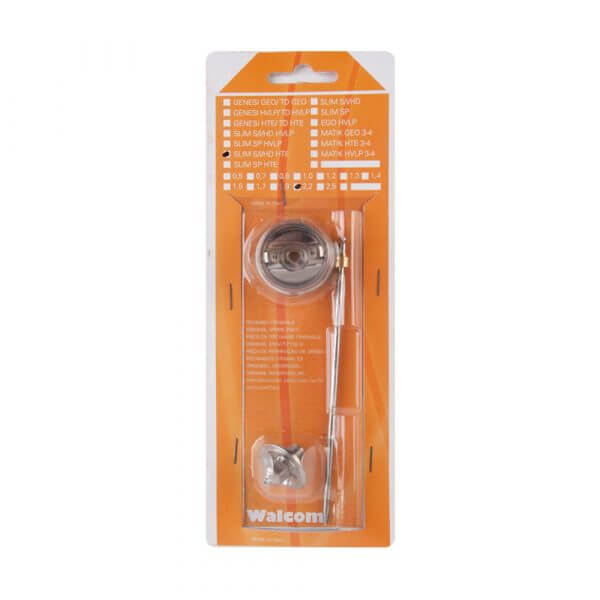 Набор запчастей для краскопультов Walcom SLIM S/I/HD HTE, сопло 2,2 мм