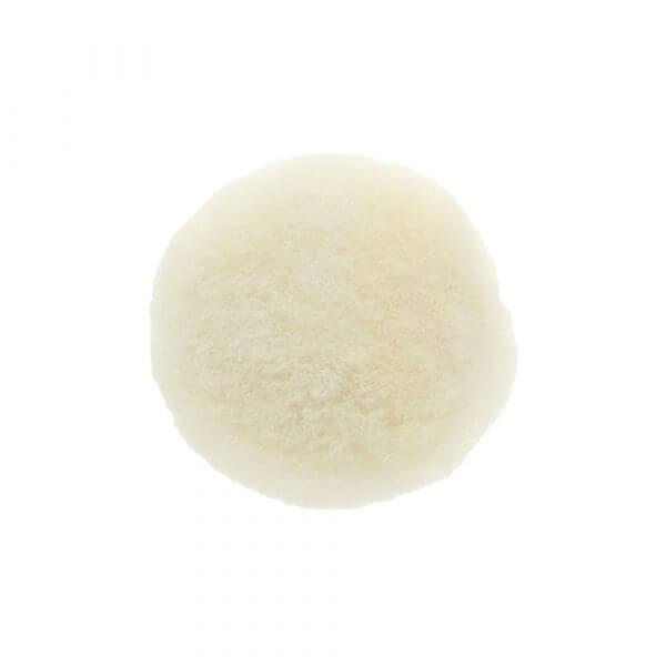 Полировальный диск из натуральной овчины MIRKA 77 мм белый