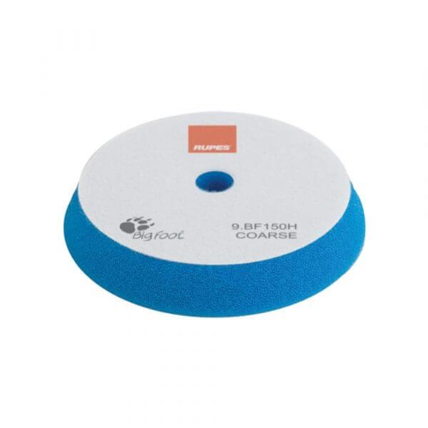 Жесткий поролоновый полировальный диск RUPES 150 мм синий