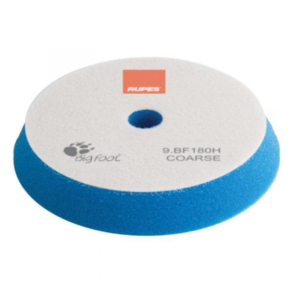 Жесткий поролоновый полировальный диск RUPES 180 мм синий