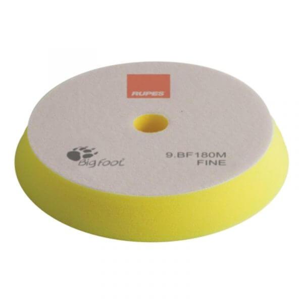 Мягкий поролоновый полировальный диск RUPES 180 мм желтый цвет