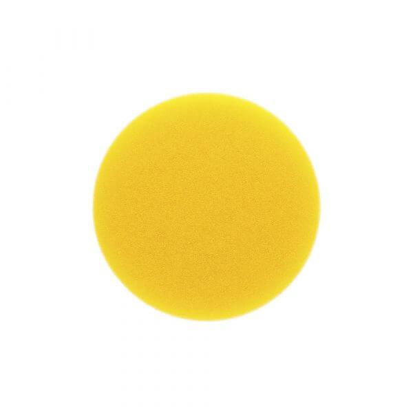 Поролоновый полировальный диск средней жесткости MIRKA 85 мм желтый