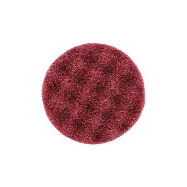 Рельефный полировальный диск MIRKA 85 мм бордовый