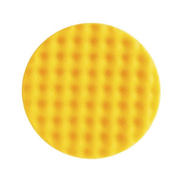 рельефный полировальный диск MIRKA 150 мм желтого цвета