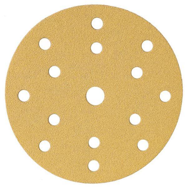 Шлифовальные круги MIRKA GOLD 150 мм, 15 отв.