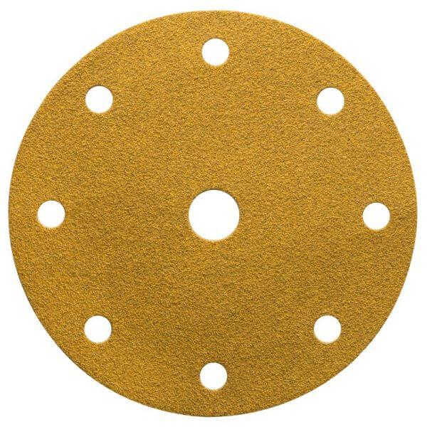 Шлифовальные круги MIRKA GOLD 150 мм, 9 отв.