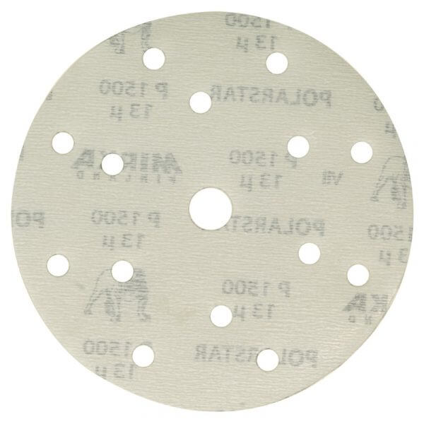 Шлифовальные круги MIRKA POLARSTAR 150 мм, 15 отв