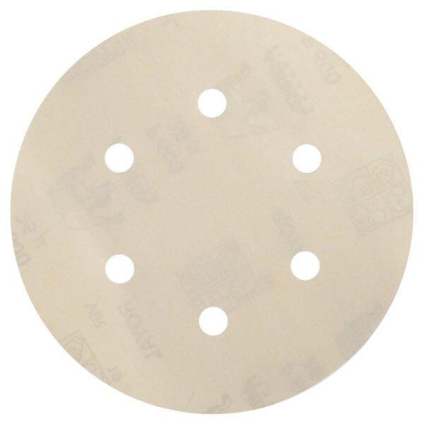 Шлифовальные круги MIRKA ROYAL 150 мм, 6 отверстий