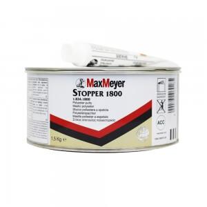 Шпатлевка легкая MaxMeyer STOPPER 1800 (1,5 кг) + отвердитель