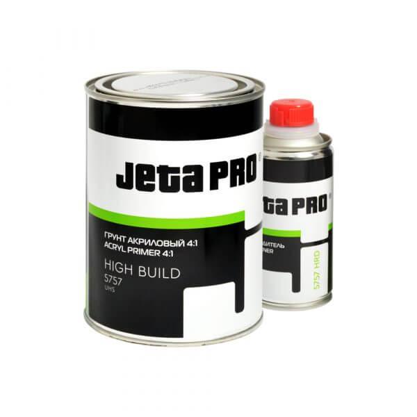Акриловые грунты JETA PRO UHS HIGH BUILD 5757 (0,8 л) + отвердитель (0,2 л)