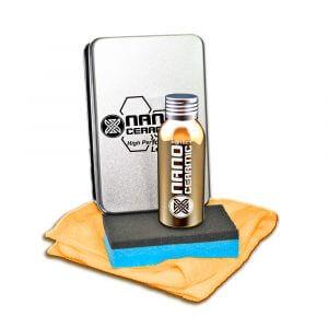 Защитное покрытие для кожи Nano Ceramic Protect Leather (80 мл)
