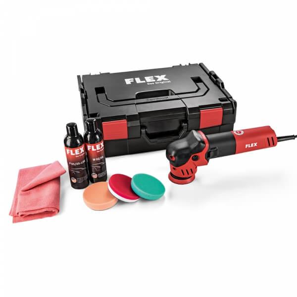 Полировальный набор FLEX XFE 7-12 80 P-SET с машинкой