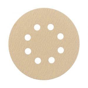 Шлифовальные круги HANKO AP33M 125 мм, 8 отв. (10 шт.)