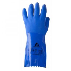 Химические нитриловые перчатки JETA SAFETY JP711 (синие)
