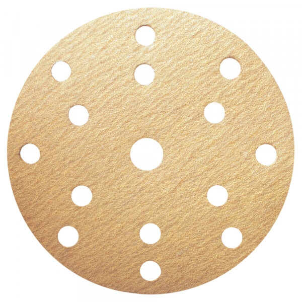 Шлифовальные круги HANKO DA321 150 мм, 15 отверстий