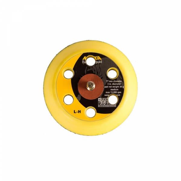 Диск-подошва средней жесткости MIRKA 77 мм, 6 отверстий