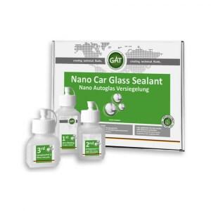 Гидрофобное покрытие для стёкол GAT Nano Car Glass Sealant Versiegelung