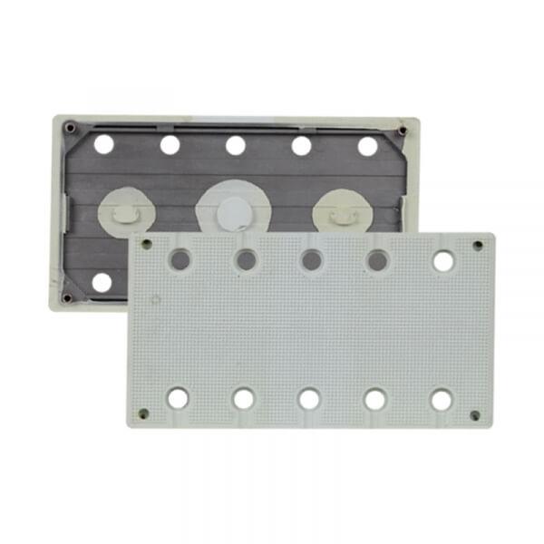 Жесткая подошва для машинок RUPES SSCA/SSPF 115 х 210 мм, 10 отв