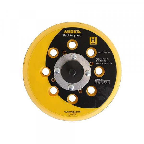 Жесткая диск-подошва MIRKA 125 мм, 28 отверстий