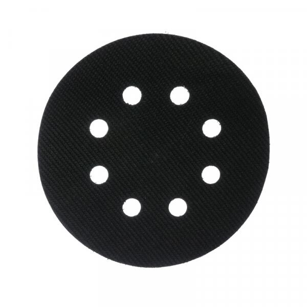 Материал-липучка для диска-подошвы MIRKA 125 мм, 8 отв. (1 шт.)