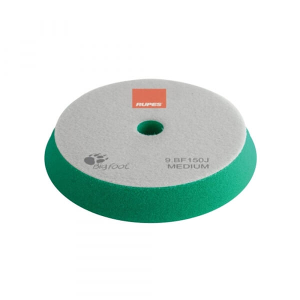 Поролоновый диск средней жесткости RUPES 150 мм зеленого цвета
