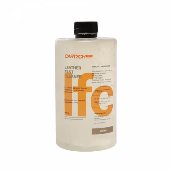 Средство для очистки кожи CarTech Pro LEATHER FAST CLEANER (700 мл)