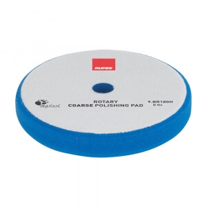 Жесткий полировальный диск RUPES ROTARY COARSE 180 мм голубой цвет