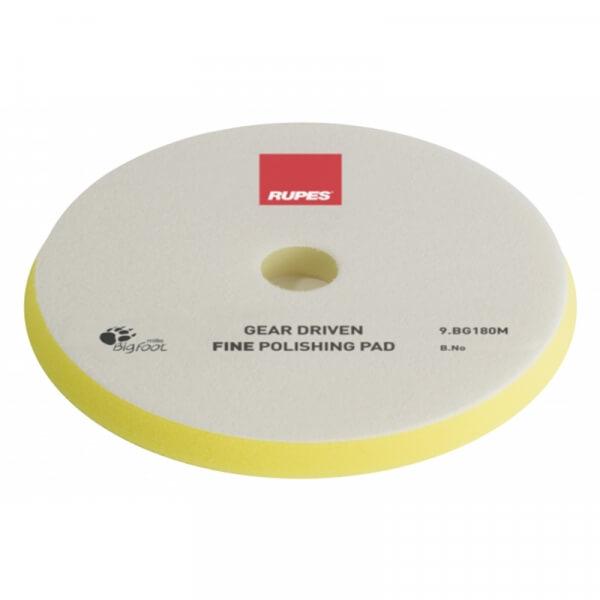 Мягкий поролоновый полировальный диск RUPES MILLE 180 мм