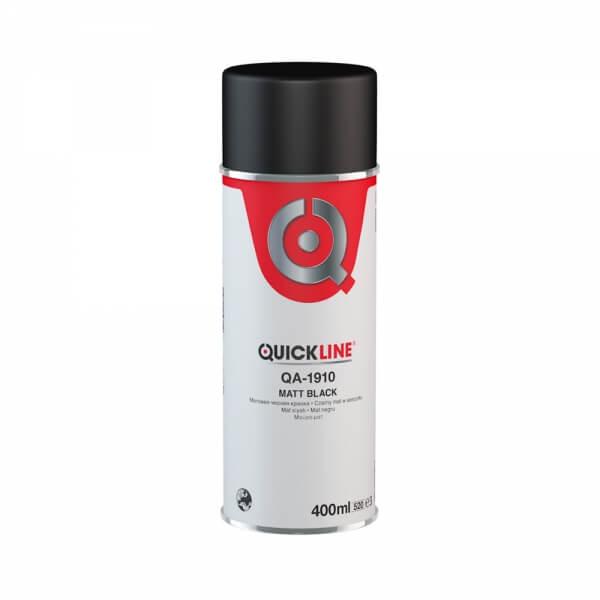 Черная матовая краска Quickline QA-1910 (0,4 л)
