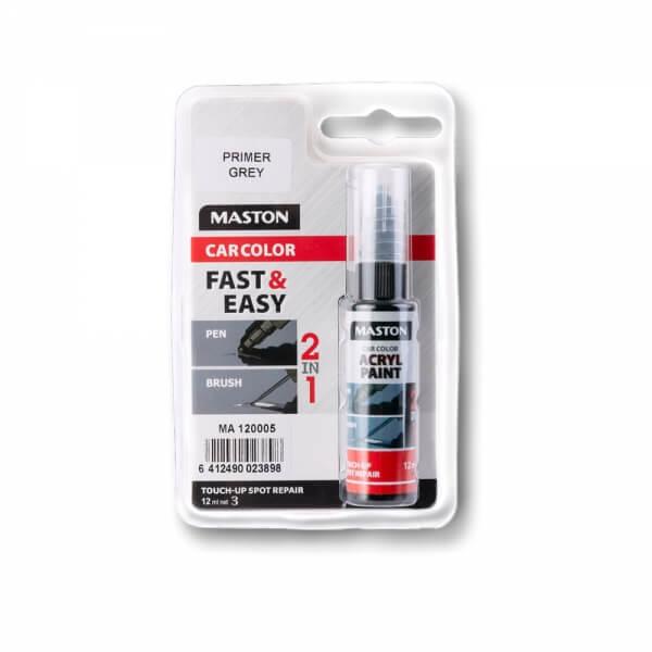 Грунт Maston CarColor Touch-up (12 мл), серый