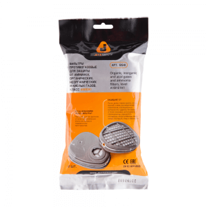Комплект фильтров от газов JETA SAFETY 6541 (байонет)