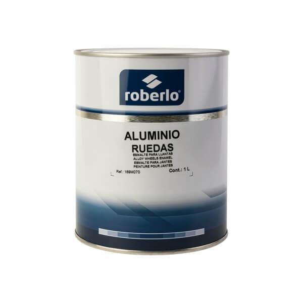 Эмаль для дисков Roberlo ALUMINIO RUEDAS (1 л), серебристый