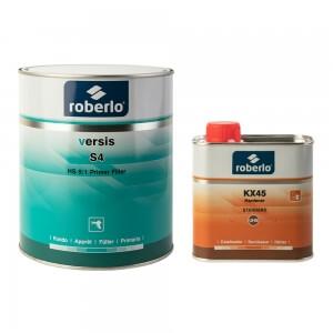 Грунт универсальный Roberlo VERSIS (2,5 л), серый + отвердитель KX45 (0,5 л)