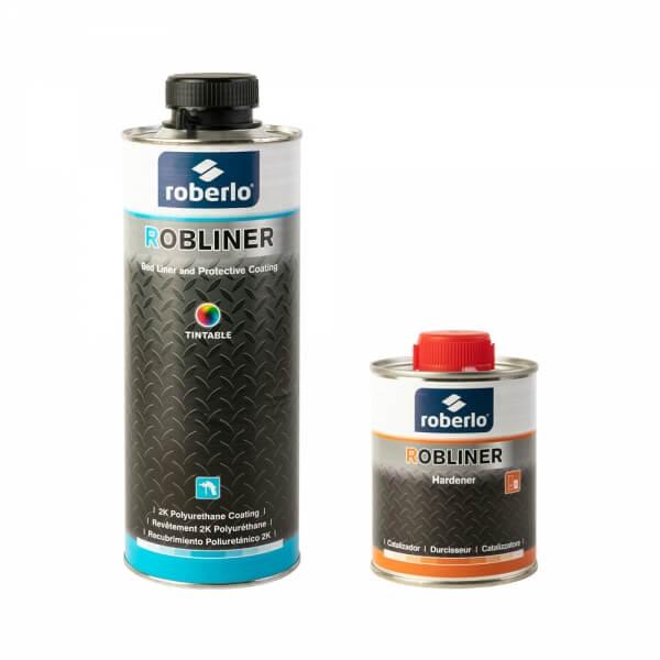 Колеруемое защитное покрытие Roberlo ROBLINER (600 мл) + отвердитель (200 мл)