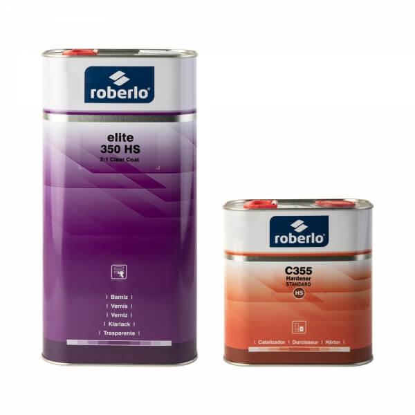 Комплект лака Roberlo ELITE 350 HS (5 л) + отвердитель C355 (2,5 л)