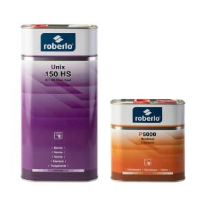 Комплект лака Roberlo UNIX 150 HS (5 л) + отвердитель P5000 (2,5 л)