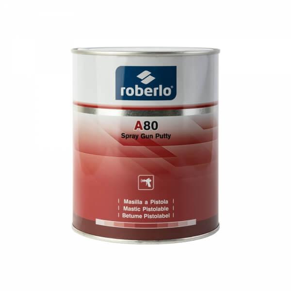 Шпатлевка жидкая Roberlo A-80 (1 л) + катализатор