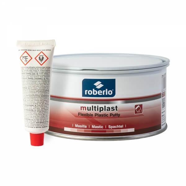 Шпатлевка по пластику Roberlo MULTIPLAST (1 кг) + отвердитель