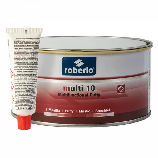 Шпатлевка полиэфирная Roberlo MULTI 10 (1,8 кг) + отвердитель