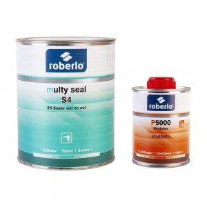 Грунт-наполнитель Roberlo MULTY SEAL (1 л) + отвердитель P5000 (0,25 л