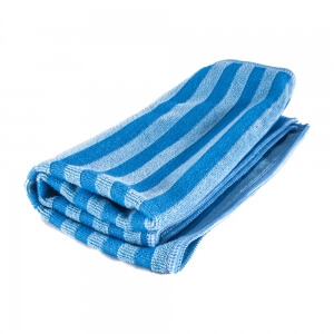 Скраб-салфетка из микрофибры HANKO голубого цвета