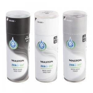Аэрозольные краски Maston ZERO (0,4 л)